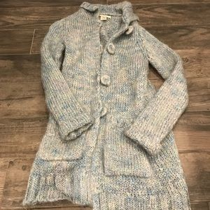 Vintage Free people fuzzy long sweater
